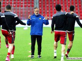Javier Miñano Armenia Trainning