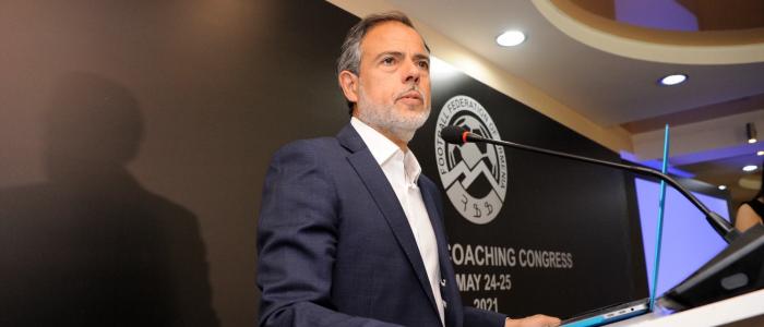 Javier Miñano @ Coaches Congress Armenia 2021